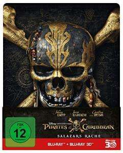 Pirates of the Caribbean: Salazars Rache 3D Limited Steelbook Edition (3D Blu-ray + 2D) für 17,99€ (CeDe)