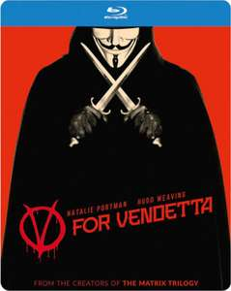 V For Vendetta - Limited Edition Steelbook (Blu-ray) für 12,89€ (Zavvi)