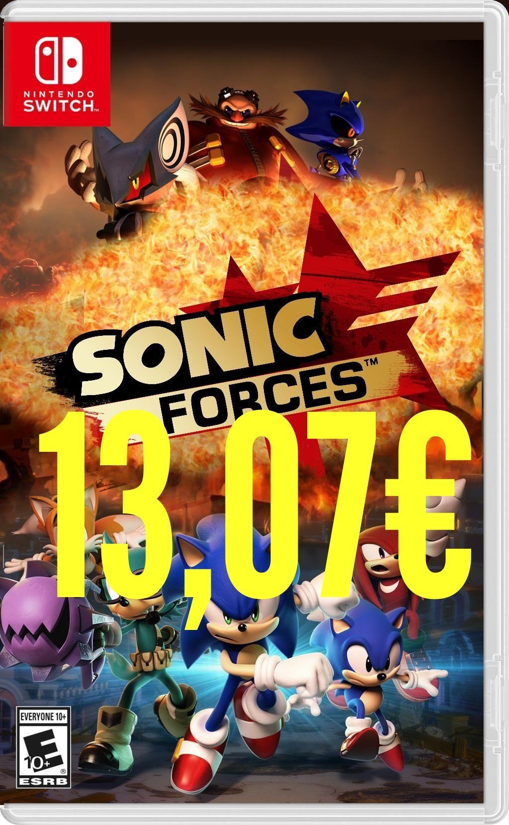 Sonic Forces Nintendo Switch Mexico Eshop