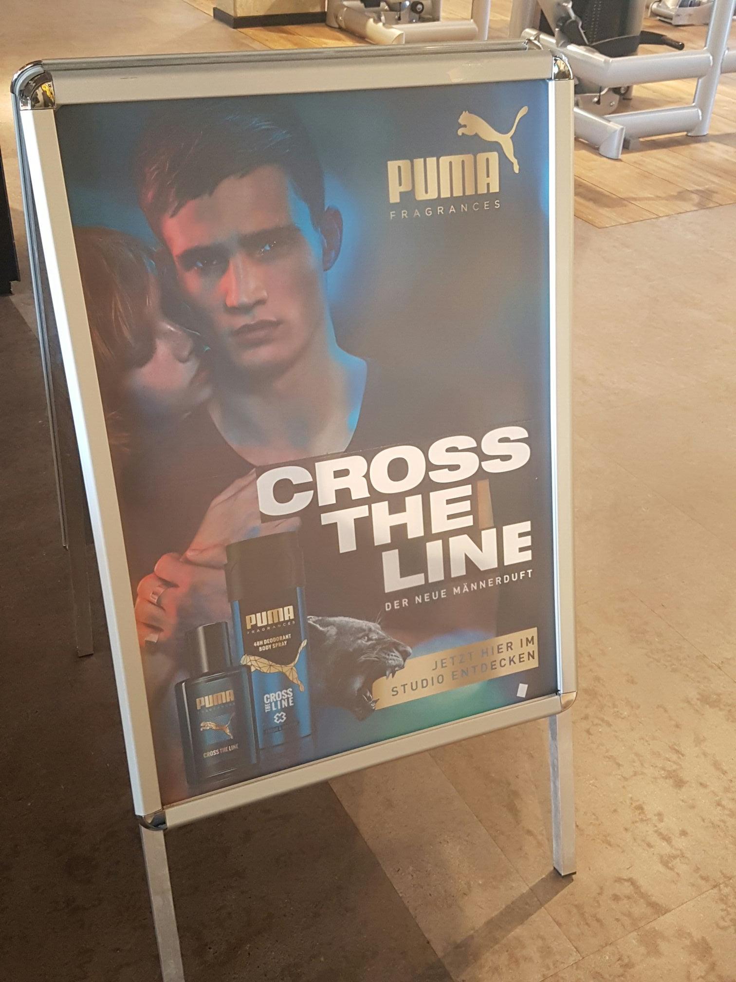 Bremen ? Puma CROSS THE LINE 1,2ml gratis [für Mc fit mitglieder]