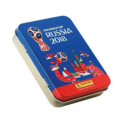[Amazon Plus] Panini Fifa World Cup 2018 15 Sticker-Tüten + Metalldose für 4,99