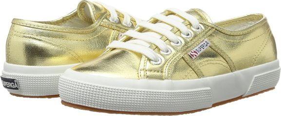 Superga Cotmetu Damen Sneaker ab 37,49€ in Größe 35 bis 41 // in Gold und Silber