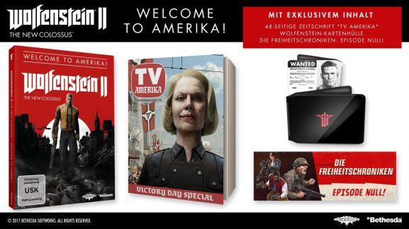 CoD: WWII + Battlefield 1: Revolution + Wolfenstein II: Welcome to Amerika Edition für 79€ [PS4] [Saturn]