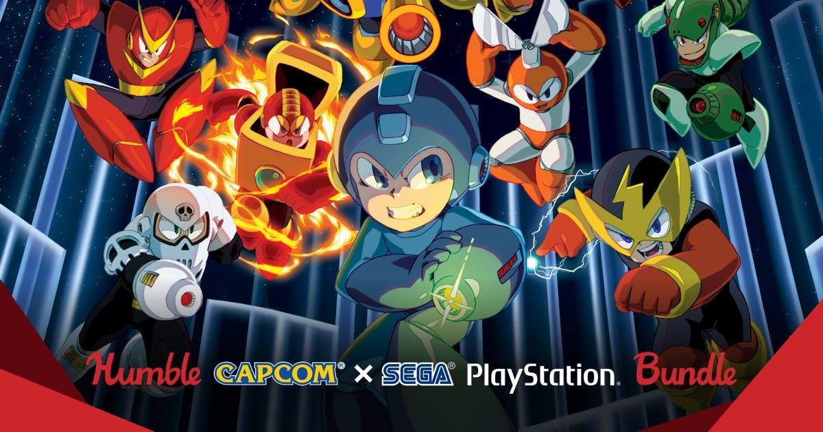 [Humble Bundle] [PSN US] Humble Capcom X SEGA PlayStation Bundle