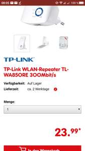 WLAN Repeater bei Netto (von TP-Link)