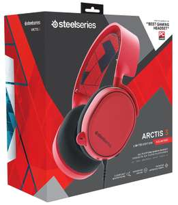 Steelseries Arctis 3 Headset Red kabelgebundenes Dolby 7.1 Gaming Headset mit 3,5mm Klinke