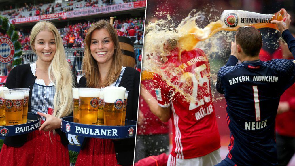Lokal München Freibier Allianz-Arena am Samstag