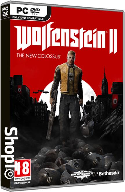 Wolfenstein 2: The New Colossus (PC) für 13,57€ (Shopto)