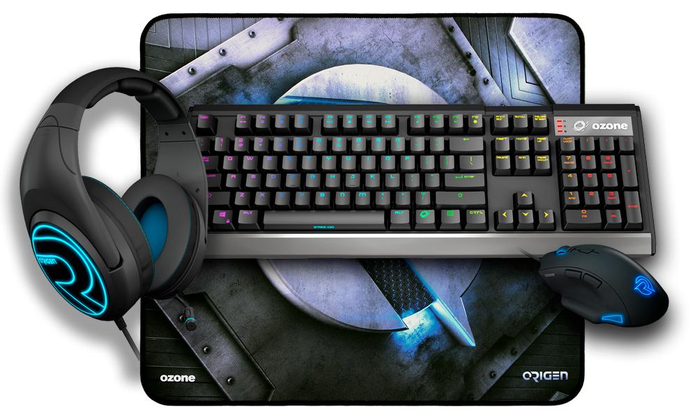 Gaming Set | mechanische Tastatur + optische Maus + 7.1 Headset + Mauspad | Kostenloser Versand