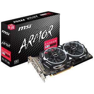 MSI Radeon RX 580 Armor 8GB OC für 283,50€ & Zotac 1070 Ti für 453,60€ u.a. Angebote [Ebay Plus / Ebay.it]