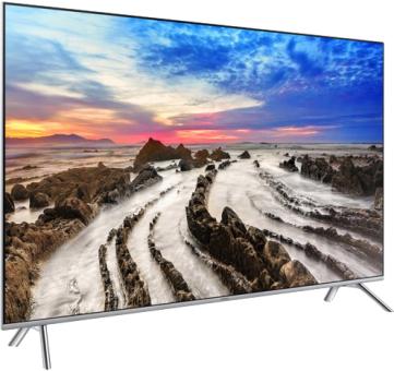 "SAMSUNG UE55MU7000 - LCD/LED-TV - 55"" - 4K - HDR - Smart - Silber Mediamarkt 46% Ersparnis ! Schweiz !"