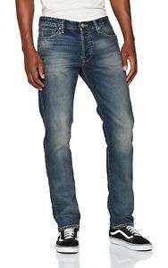 JACK & JONES Jeans Comfort Fit Rise Hose Denim Herren Mike
