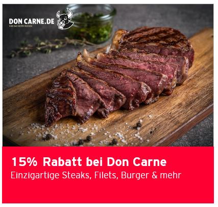 Don Carne 15% Rabatt ohne MBW