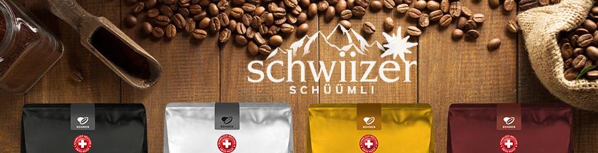MIGROS: neu: jetzt auch Schwiizer Schüümli - 4 Sorten, je 9,99 / Kg (Portofrei ab € 29,97, Espresso, Crema, Gastro und Mild)