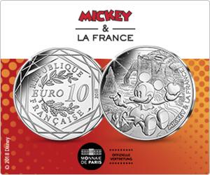 [Web.de / GMX / Webcents] 10 Euro Mickey Mouse Münze für 12,95 Euro mit 12,05 Gewinn