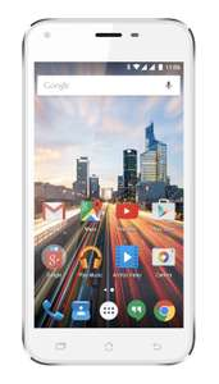 """[Notebooksbilliger.de] Handy Archos 50 Helium Plus: weiß, 5"""" (1280 x 720), 1GB/8GB, Dual SIM, Android 5, für 43,89 Euro"""