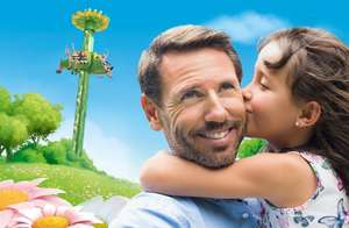 Holiday Park: Väter kostenloses Ticket beim Kauf eines Kindertickets