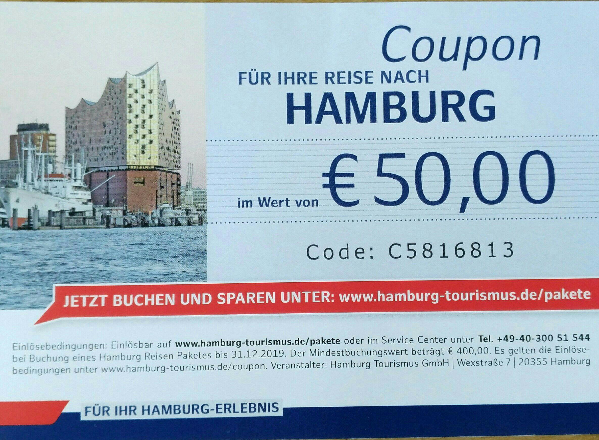 Hamburg Reise Pakete -50€