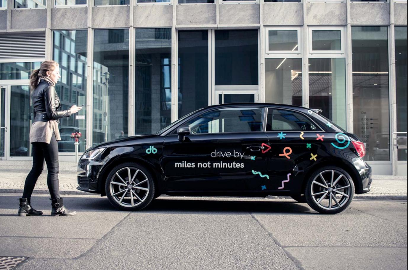 drive by - Carsharing 10 Freikilometer gratis bei Neuanmeldung