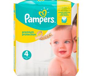 [dm glückskind App] Pampers Probepackung gratis mit je 2 Pants & Premium Protection Windeln Gr. 4