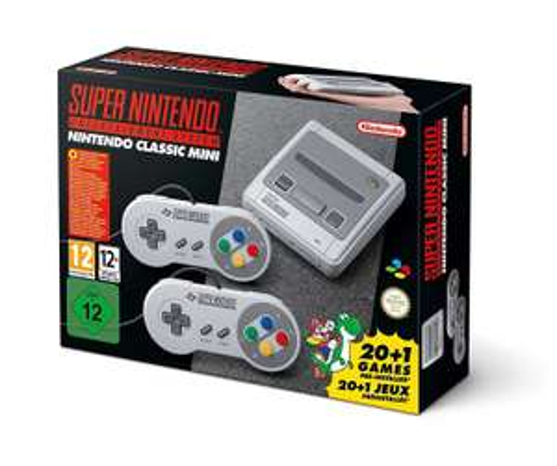 Super Nintendo Classic Mini  inkl. 21 installierten Spielen