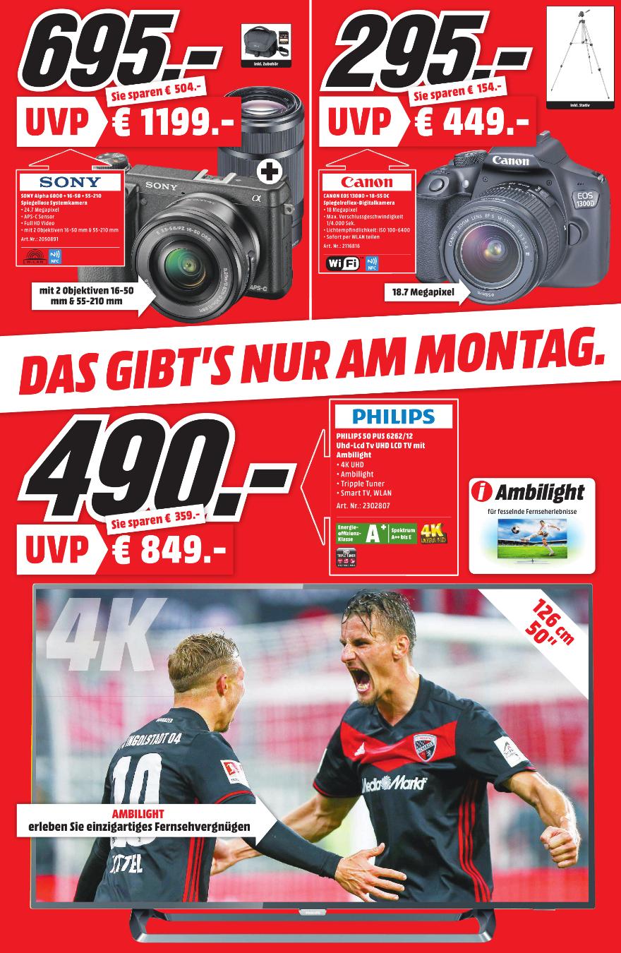 [Lokal] SONY Alpha 6000 schwarz Kit mit 16-50mm PZ und 55-210mm (Bergstraße, HD; MA 30.4)