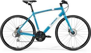 MERIDA CROSSWAY URBAN 20-MD MG 2017 METALLIC-BLAU(WEIß) bike