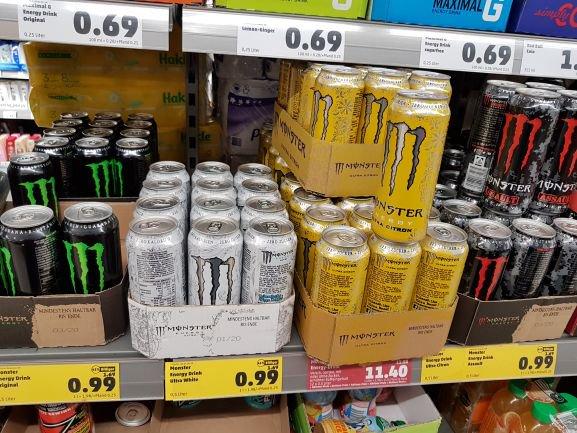 Monster Energy (versch. Sorten) bei Penny
