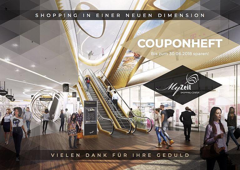 (Lokal Frankfurt MyZeil) Couponheft für diverse Shops (u.a. Gravis)