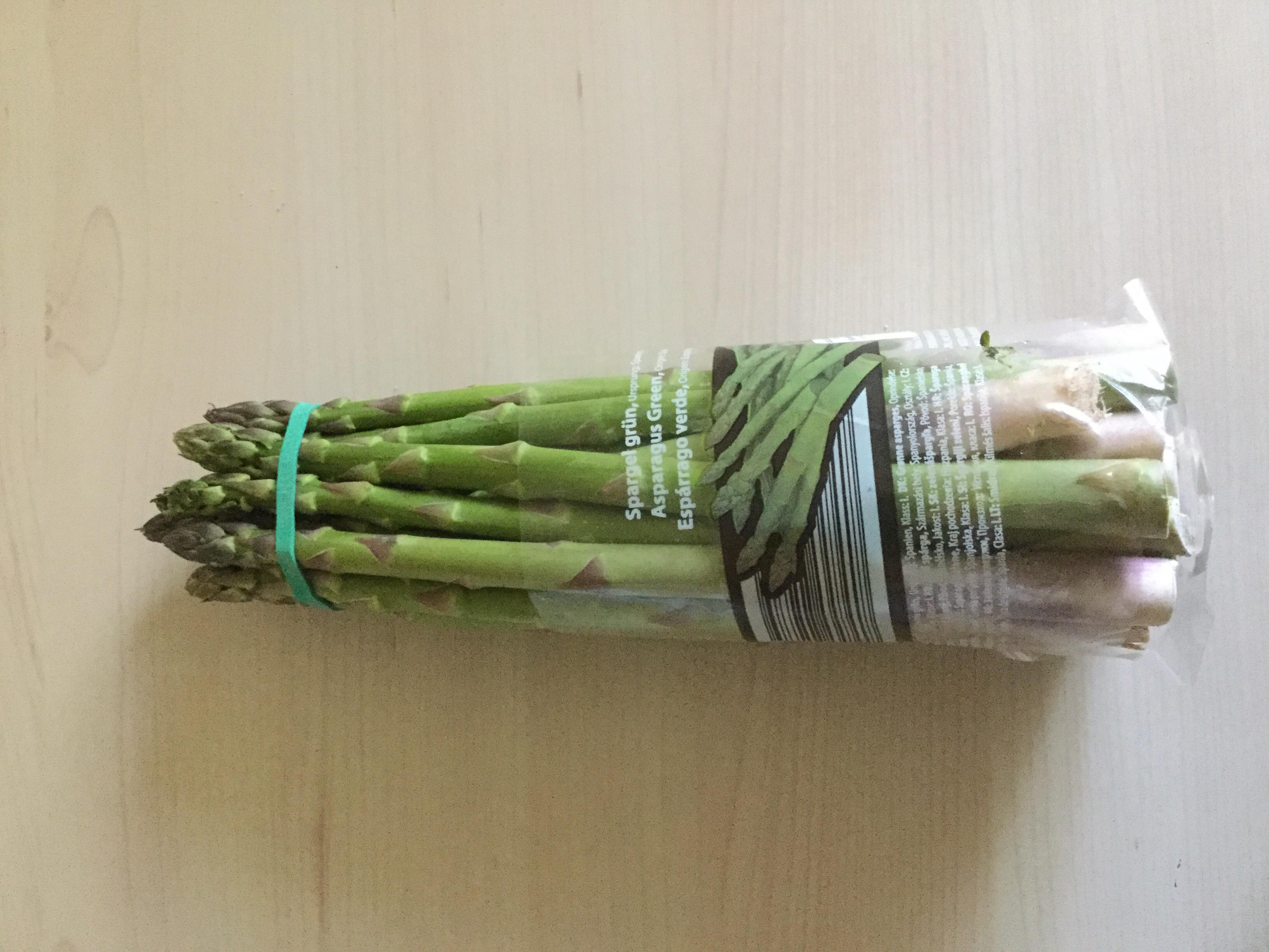 (Lidl) Spargel grün für 1,49€ pro 500g