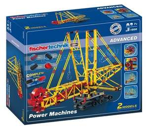 Fischertechnik 520398 - Advanced Power Machines Baukasten für 96,90€ [Interspar.at]