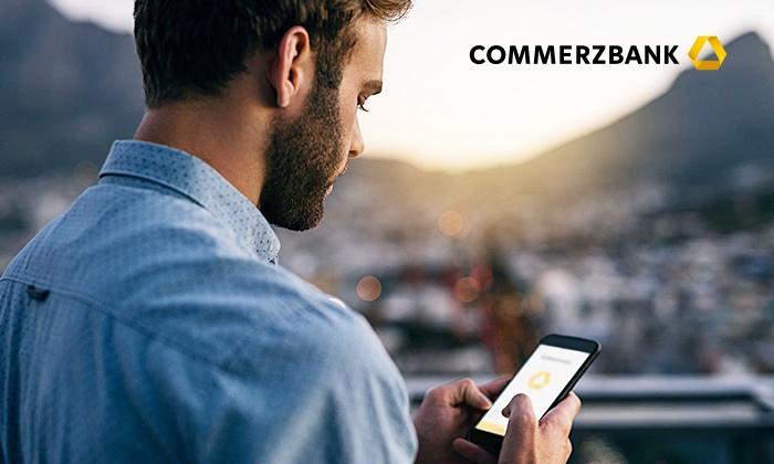 Bis zu 230€ Prämie bei Commerzbank über Groupon