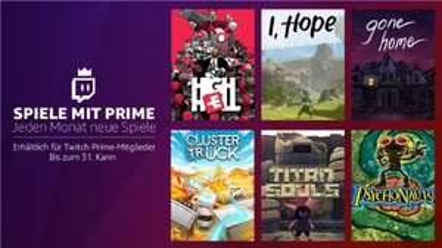 Psychonauts, Clustertruck, Gone Home, Titan Souls, High Hell, I, Hope Gratis für Twitch-Prime Mitglieder!