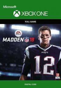 Madden NFL 18 Xbox One Code für 16,05€
