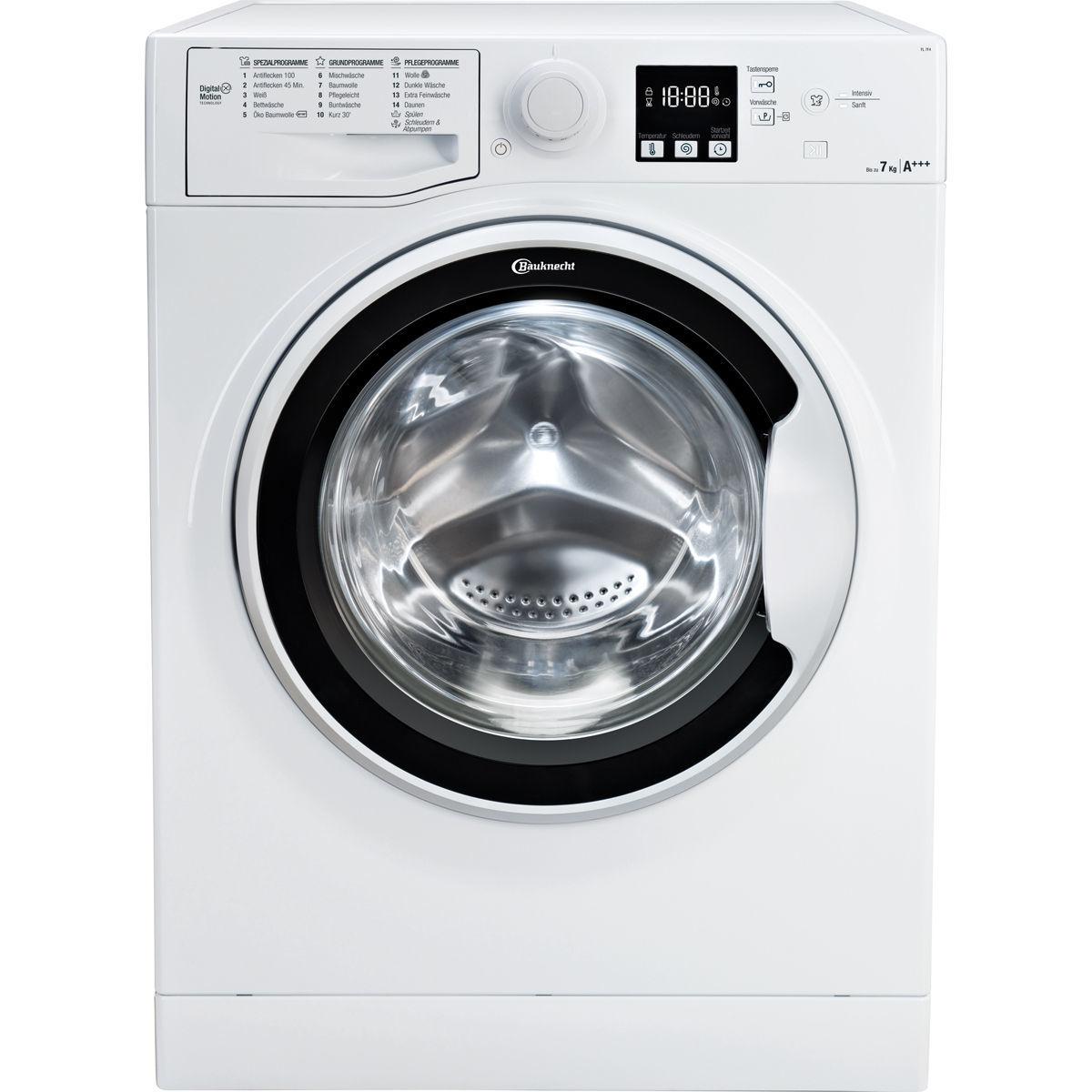 Bauknecht FL 7F4 Waschmaschine A+++ 7KG inkl. Lieferung mit Newsletteranmeldung [KARSTADT]