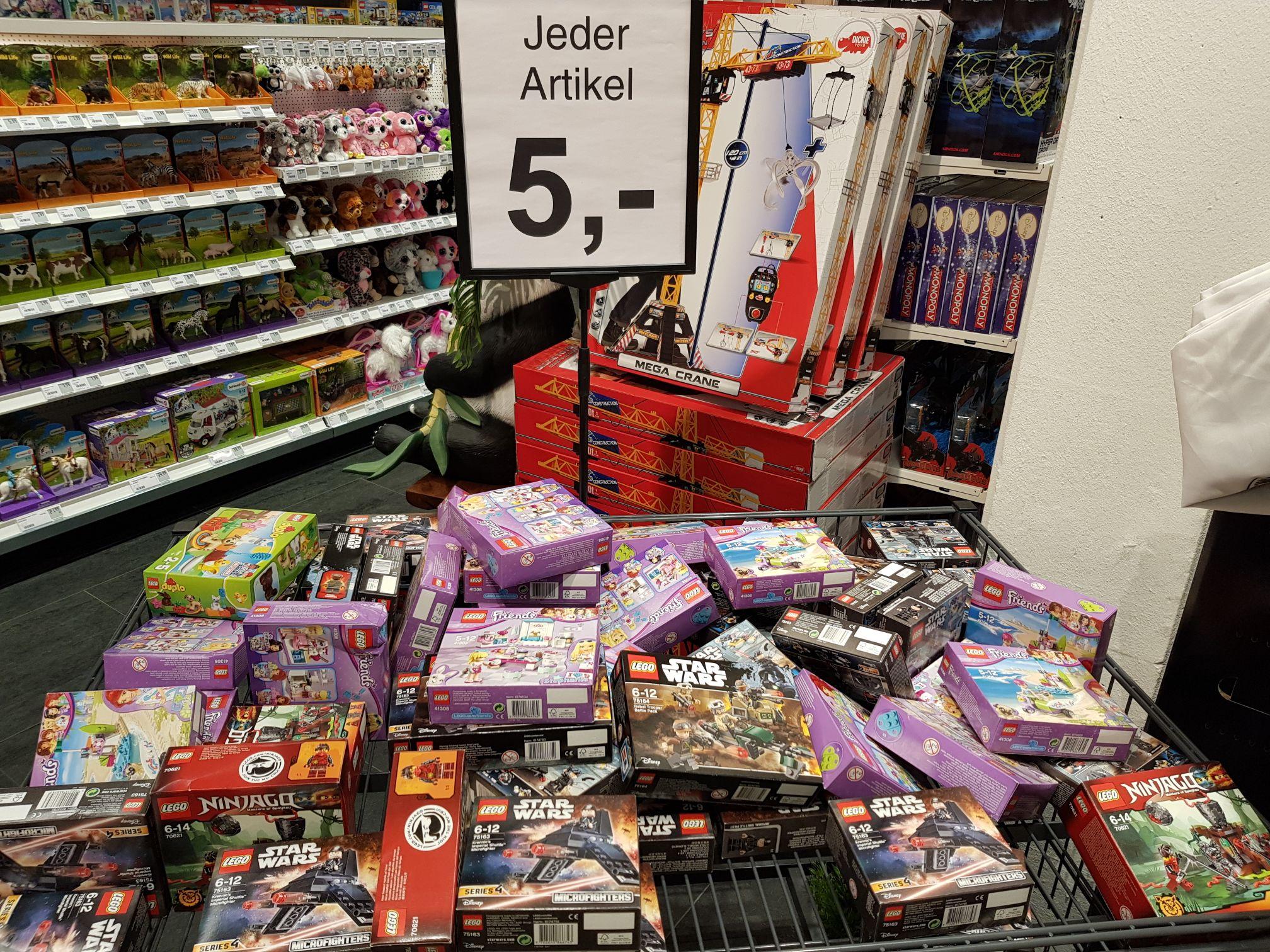 Lokal Rewe Center Rodgau Dudenhofen - Diverse Lego Artikel 5€
