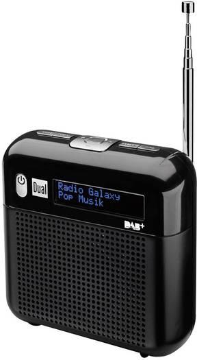 [Digitalo] Dual DAB 7 Digitalradio (DAB, DAB+, UKW Radio, integrierte Akkus, Kopfhöreranschluss) Schwarz