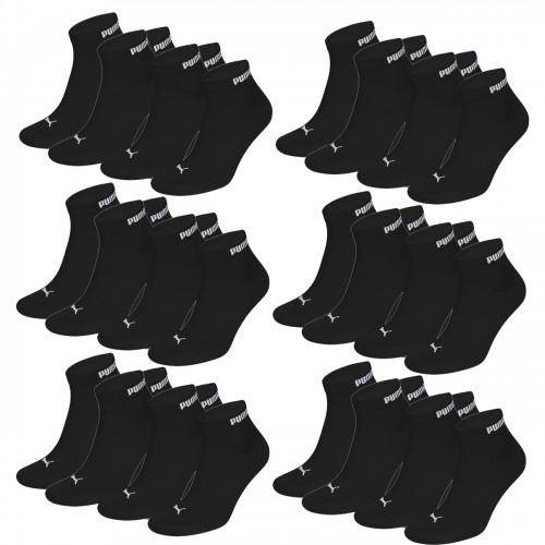 18 Paar Puma Unisex Quarter Clyde Socken + 1 Paar geschenkt
