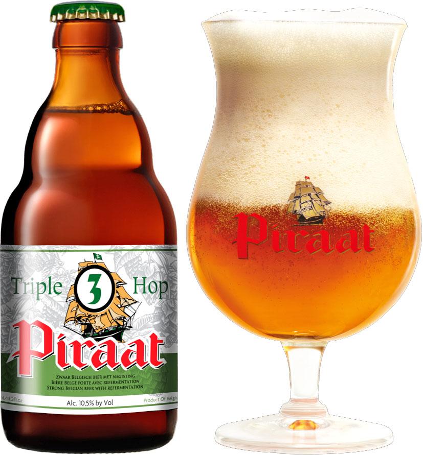 """Belgisches Spitzenbier """" Piraat """" mit 10,5 Vol%, 4 Flaschen nur 4,99€ (Lidl)"""