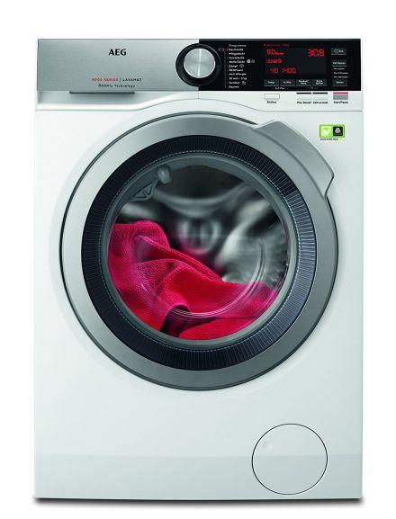 AEG L8FE86484 Lavamat Waschmaschine - A+++ / 1400 UpM / 8 Kg / Dampffunktion / Inverter Motor (sehr leise und 10 Jahre Garantie)