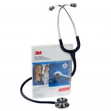 Littmann Stethoskop Classic II mit Gravur und Lernsoftware für Medizinstudenten