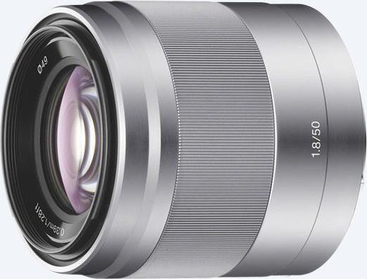 Sony SEL-50F18  50mm f1.8 OSS Silber [30€ Cashback]