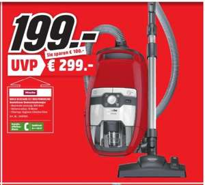 Miele CX1 Red Powerline [lokal Mediamarkt Frankfurt NWZ]