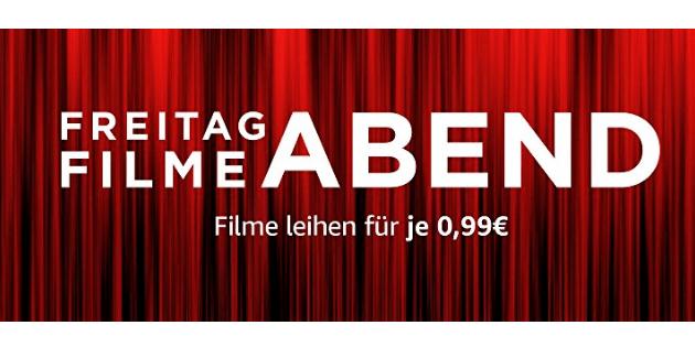 [Amazon Video] Filmfreitag - 10 Filme für je 0,99€ (HD) zum Leihen