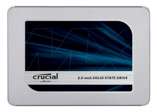 SSD Crucial MX500 500GB *** 860 EVO 250 GB für 56,18€ [Alternate][Masterpass]