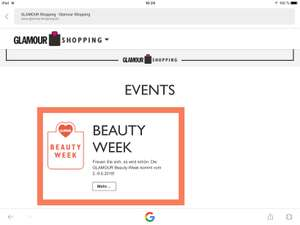 (Glamour) Beauty Week vom 2.-9.06.2018