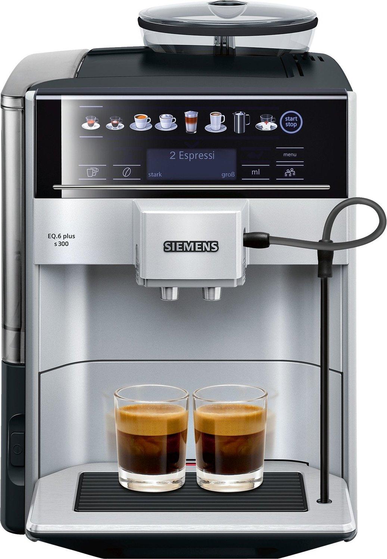 SIEMENS Kaffeevollautomat EQ.6 plus s300, 1500 Watt