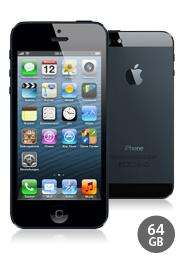 Apple iPhone 5 (64 GB) günstig finanzieren mit 24-Monats-Vertrag
