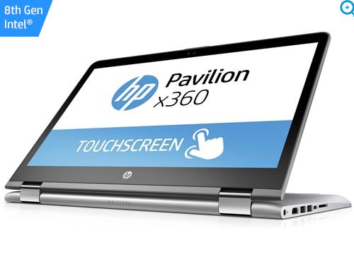[HP Store] HP Pavilion - 14-ba108ng silber, i5-8250U Notebook 14 Zoll, 4x 1.60GHz, 8GB DDR4, 1TB HDD, 128GB SSD