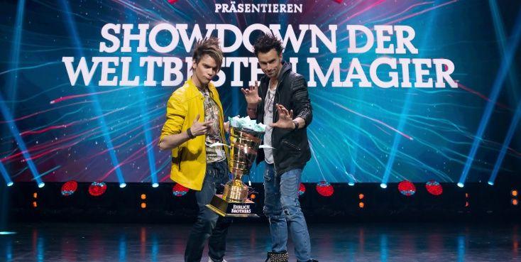 Showdown der Ehrlichbrothers- Tickets bei Schwabendeal zum halben Preis 19 statt 37.90